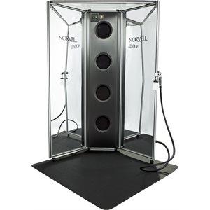 Arena Professional Overspray Backdrop + Z3000 & Mat, Mirror Panels